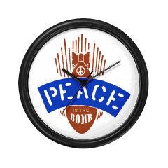 Peace Bomb Clock