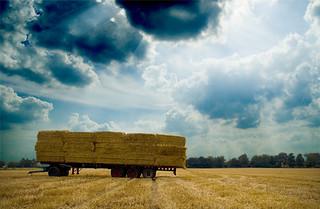 My Hay Truck Sky