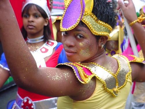 Dancer at West Indian Carnival Parade, Brooklyn, NY