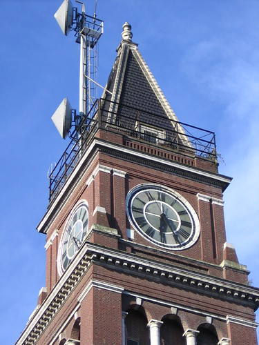 And a quick closeup of the King Street Station clock