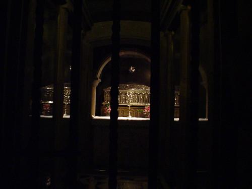 Tumba del Apóstol Santiago - Catedral de Santiago de Compostela