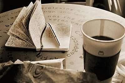 Moleskine Notebook and coffee