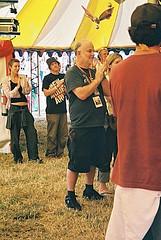 John Peel Croissant Neuf (Auntie P) Tags: glastonbury festival festivals johnpeel john peel croissant neuf 2004 music
