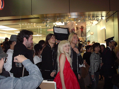 Celebs at Ginza Chanel