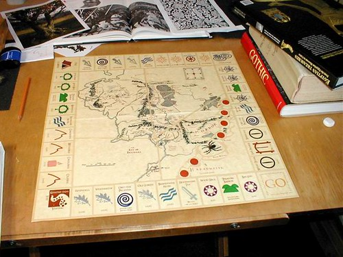 Making a Lord of the Rings Monopoly Game - Step 13