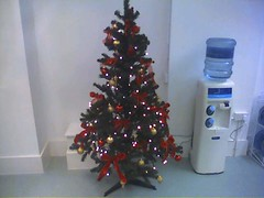 Christmas tree (Tom Insam (old)) Tags: exif:missing=true