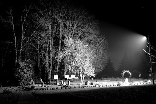 The cemetery at night (II)