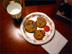 Santa's cookies.