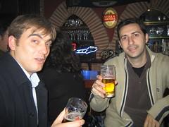Cheers!! (penya) Tags: nadal cerveseria javi llus jorge 2004