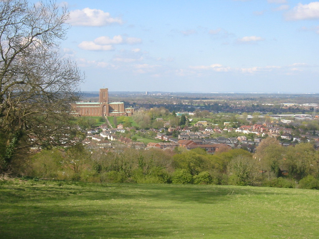 Guildford from on high