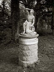 Cyparissus, Forest Glen, Maryland (ponto) Tags: statue geotagged parks maryland mythology myth forestglen forestglenmd nationalparksseminary geolat39012290 geolon77056410