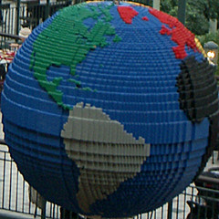 Lego World (rbanks) Tags: squaredcircle lego world globe