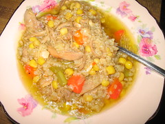 Turkey Soup/Stew With Rice