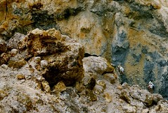 Montserrat Volcano crater (Brenda Anderson) Tags: volcano crater montserrat caribbean abovealtitude westindies scannedprint curiouskiwi soufrierehills utataview brendaanderson curiouskiwi:posted=2004
