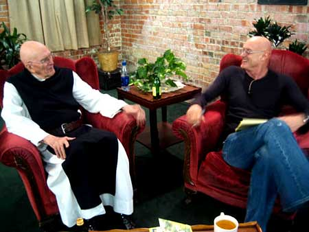 Thomas Keating and Ken Wilber