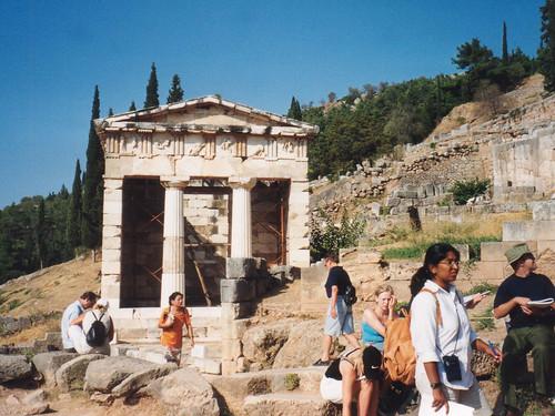 Delphi, The Treasury of the Athenians
