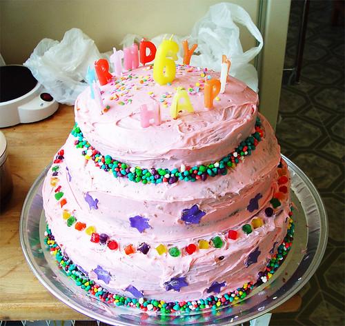 Sierra\'s Birthday Cake