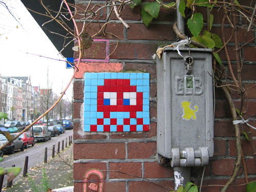 Grafitti Space Invader