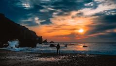 Avant la fin (ThibaultPoriel) Tags: beach coast sea cliff night sun sunlight sunset sunrise colors travel trip walk nature bretagne olympus france europe earth planet beautiful exploration adventure