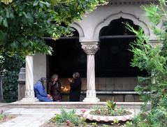 Hacienda courtyard style home