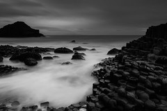 Giant's Causeway, Bushmills. Northern Ireland. (jtat_88) Tags: 09neutraldensityhardgrad amateur atlanticocean basalt basaltcolumns bushmills causeway causewaycoast chalkbed circularpl column countyantrim countyantrimcliffpath digital filters finnmaccool flow fullframe giant giantscauseway hardgrad hexagonal hoya hoyapro1digitalcircularpolarizingfilter ilce7 ireland irish le lee leefilters leelittlestopper landscape lava lavaplateau legend littlestopper longexposure mirrorlesscamera mist nd ndfilter ni nationaltrust nature northcoast northernireland ocean old photography rocks sea seascape seaside sky sony sonyfe2870mmf3556oss sonya7 stones sunrise thuleanplateau travelphotography unesco volcanic water waterfront winter worldheritagesite unitedkingdom gb