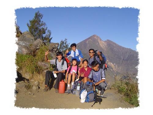 Mount Rinjani Group Elderweiss