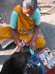 Mehndi stamps