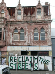 reclaim the streets (nospuds) Tags: urban decay urbandecay building graffiti street