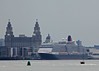 Queen Victoria at Liverpool (Roy Lowry) Tags: queenvictoria liverpool liverbuilding rivermersey