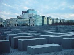 Memorial to the Murdered Jews of Europe (individual8) Tags: berlin germany 2005 january fieldofstelae potsdamerplatz memorialtothemurderedjewsofeurope holocaust memorial