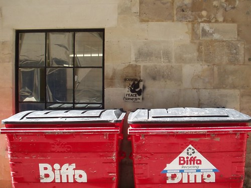 Biifa waste bins Electricinca, Flickr