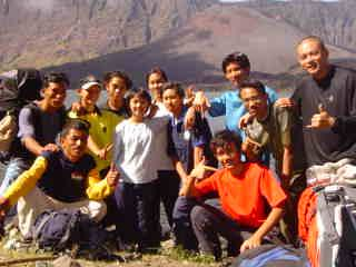 Mount Rinjani Group 6 and 7