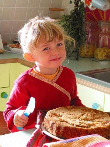 We make a good cake in Nieuwendammerdijk