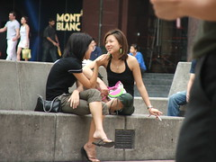 """yeah, i know..."" (Ton MJ) Tags: people singapore cigarette candid s5500 orchardroad fujifilmfinepix"