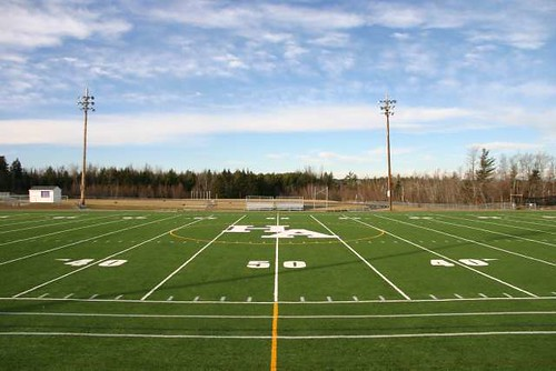 Football field by nightthree, on Flickr