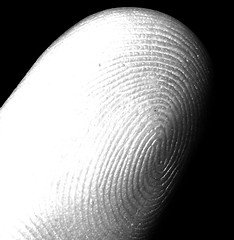 my fingerprint (index, left hand)