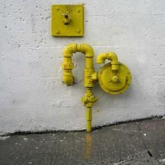Yellow Utility Fixtures