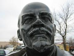 Lenin (junio) Tags: statue moscow russia lenin winter park communism