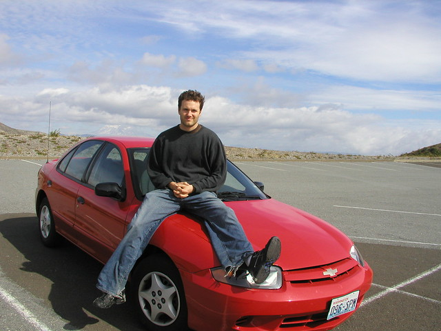 cavalier chevy sthelens cars hood seattlelatesummer2004triptomomshouse geolat46232934 geolon122142906 geotagged