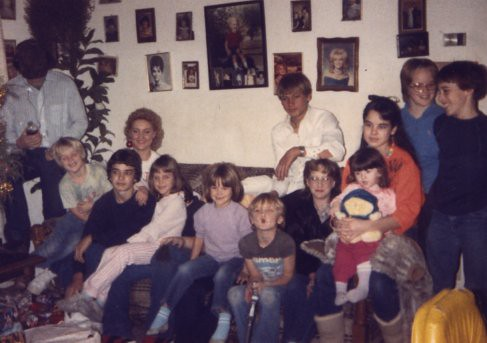 Eighties Family (Just Kids) Photo