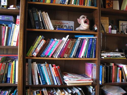 jbum's home office bookshelves