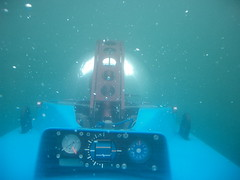 Dive dive dive (jurvetson) Tags: bay monterey topv555 experimental submarine deepflight firsttheearth sustainabledrive v3502m807 fteunderwater