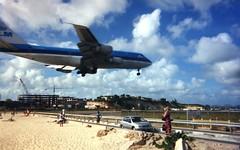 747 Over Sunset Beach