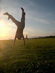 cartwheel (GatheringZero) Tags: cartwheel sunset cornwall