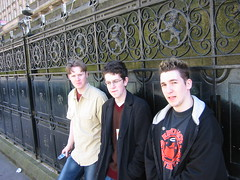 The Gang in Glasgow (Flxzr) Tags: jamie glasgow neil gary stvincentsplace