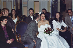 bisou (Baptiste) Tags: 2004 mariage marcoyun clovis sophie marco yun laurentr