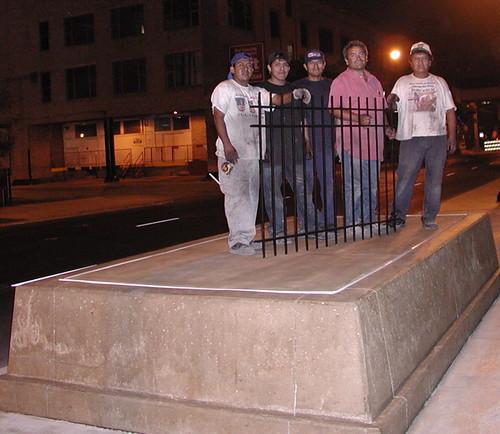 Haymarket Fence