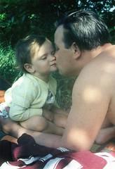 me & my dad (Miss Muffin) Tags: old memories dad child love alt erinnerungen vater kind liebe childhood kindheit me mychildhood