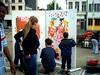 2004.07.25_0047 (slö) Tags: street streetart art kids paint poetry straatsalaat antistresspoweet multiculture notitleyet stichtingzondag kerkstraat 2060 schaaflicht