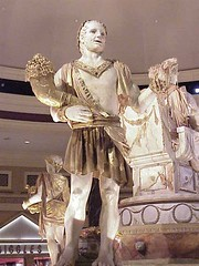 Caesars Forum Shops sculptures1 - by mharrsch